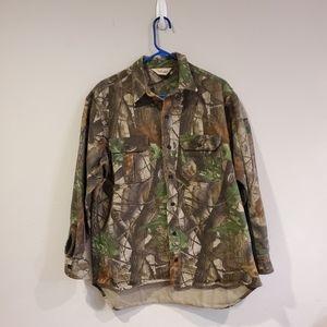 Walls button up realtree shirt